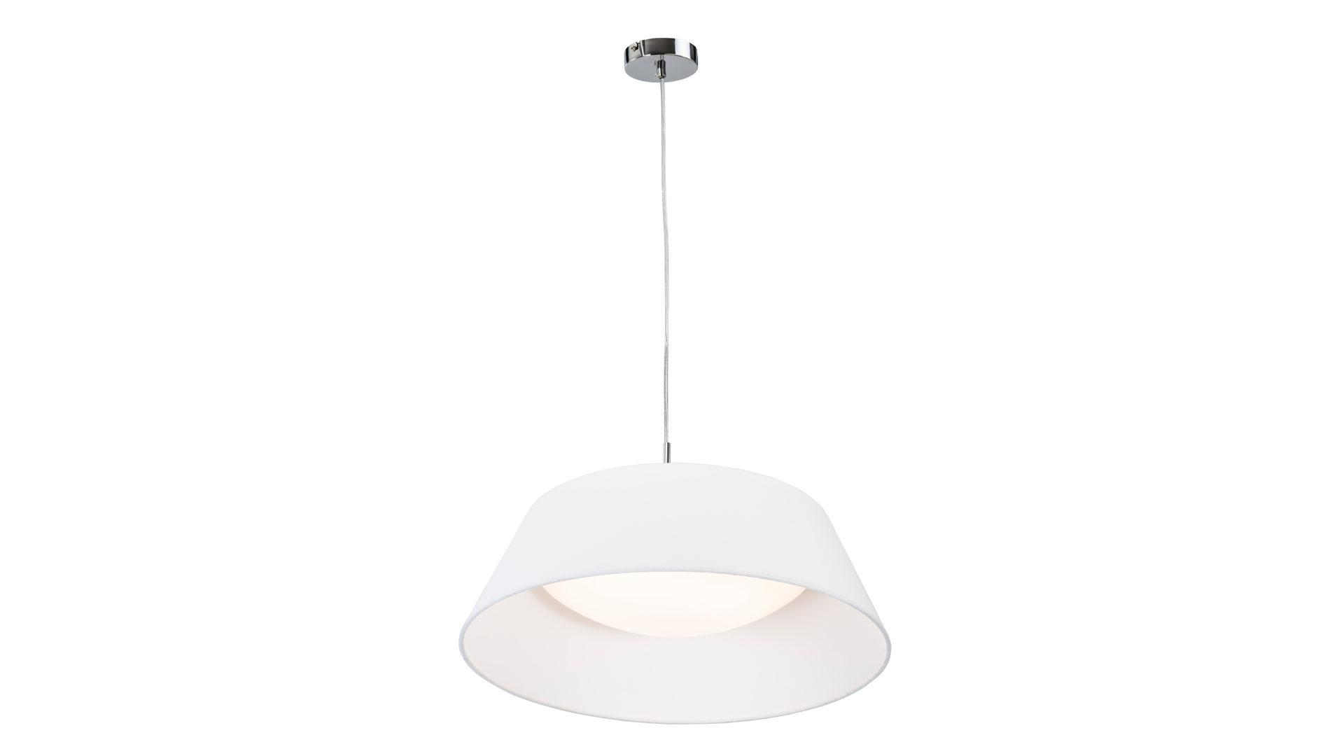 Jobst Wohnwelt Traunreut, Räume, Esszimmer, Lampen + Leuchten, LED Pendelleuchte,  LED Pendelleuchte Leya, Weiß U0026 Weiß U2013 Durchmesser Ca. 55 Cm