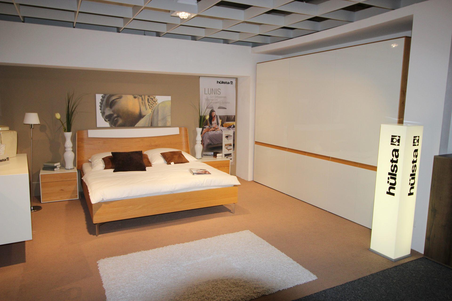 Jobst Wohnwelt Traunreut, Ausstellungs - Schlafzimmer, Ausstellungs ...