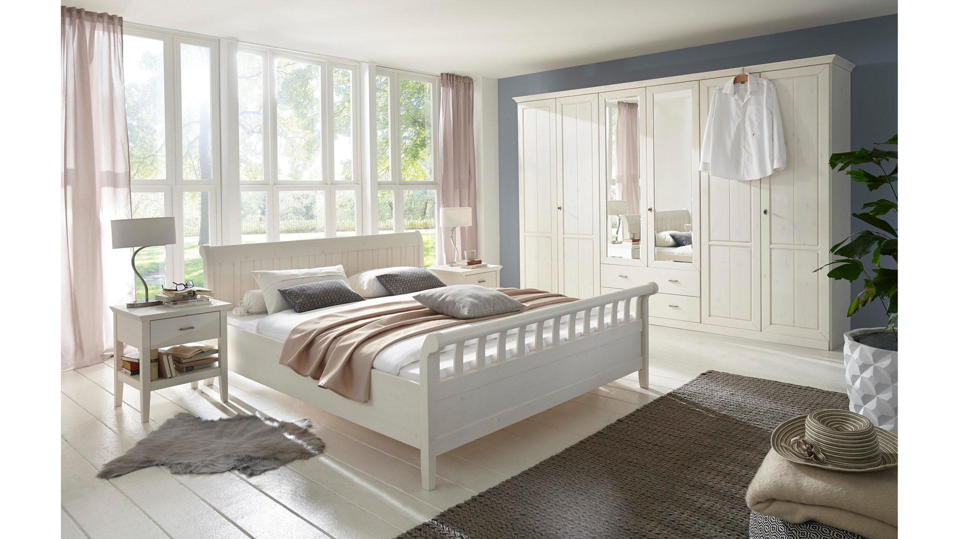 Landhausmöbel Schlafzimmer Weiß | rheumri.com