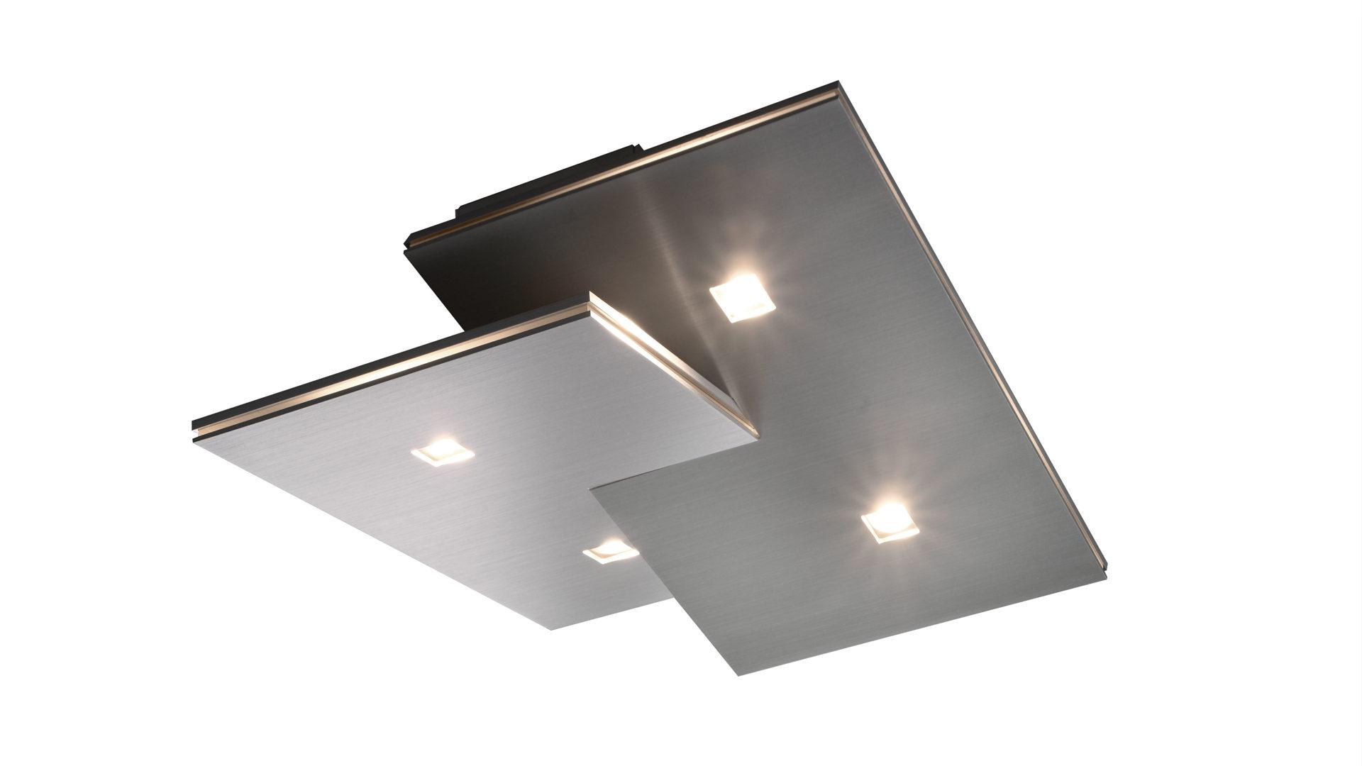 Leuchten Led Panel Decken Lampe Silber Wohn Zimmer Beleuchtung Flur Lampe Lange 120 Cm Business Industrie Attualebrasil Com Br