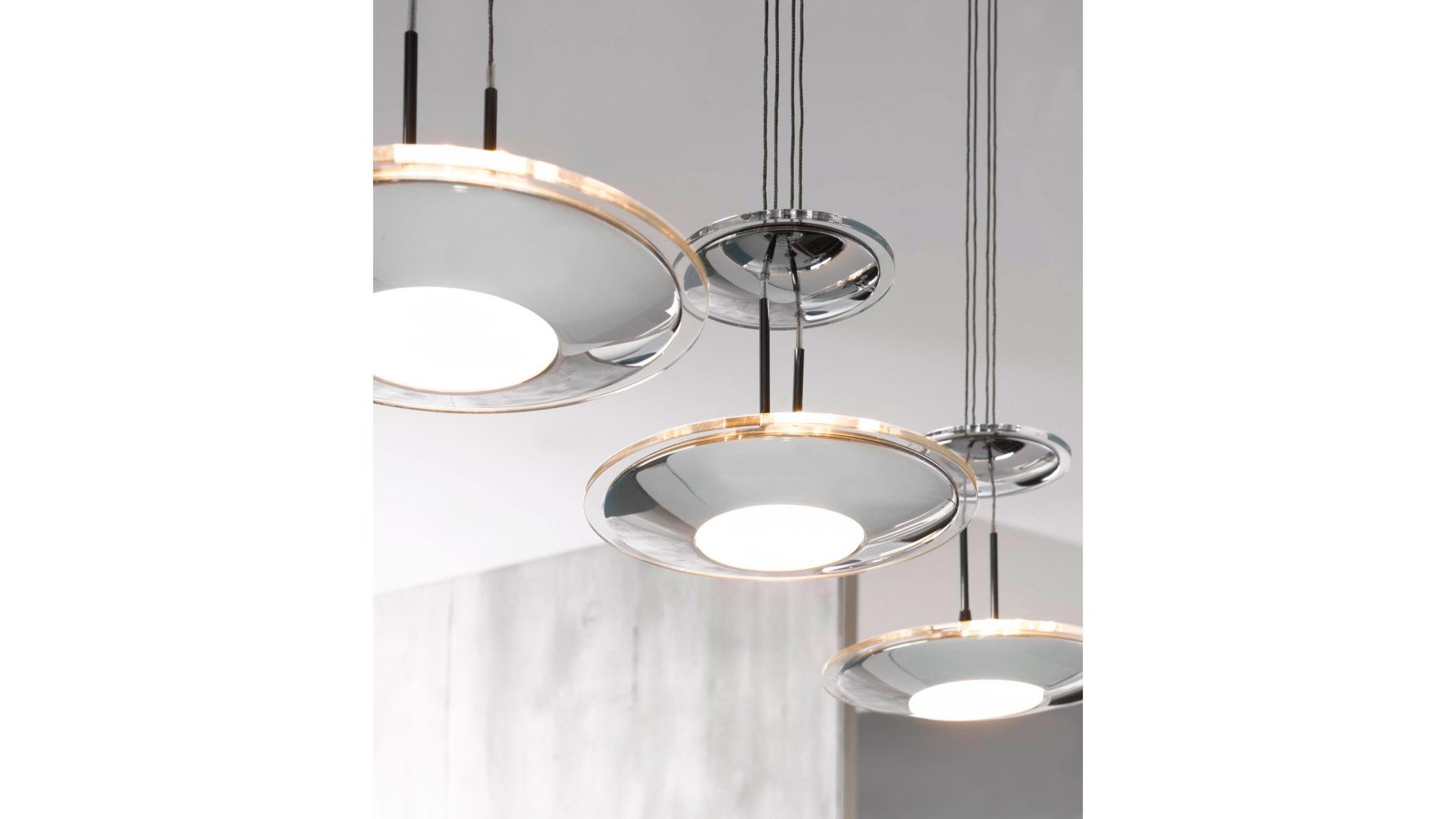 jobst wohnwelt traunreut rume esszimmer lampen leuchten led hngeleuchte noemi in silberfarben in modern trend design junges wohnen - Esszimmer Lampen Led